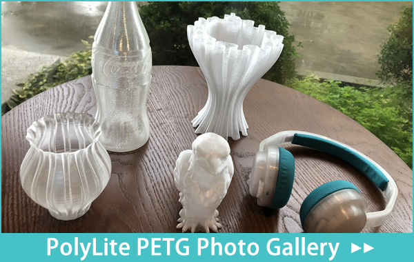 PolyLite PETG Photo Gallery